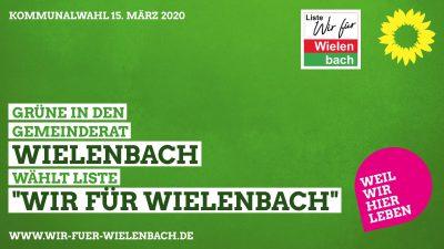 Grüne in den Gemeinderat Wielenbach